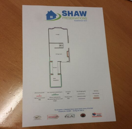 Example of our sketch plan